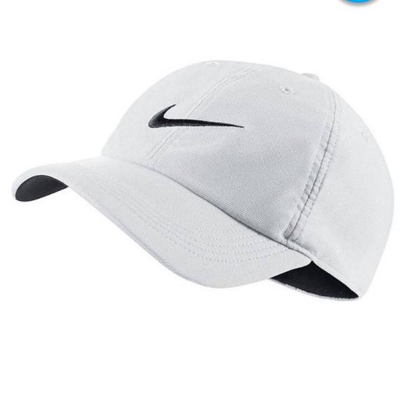 Nike white womens dri-fit hat bb8f2d144dd